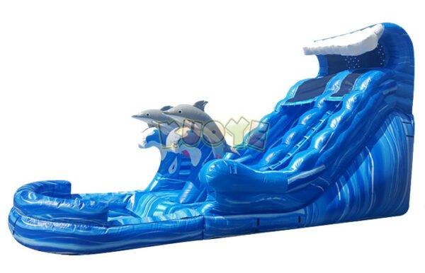 WS1803 20ft Dolphin Splash Water Slide 5
