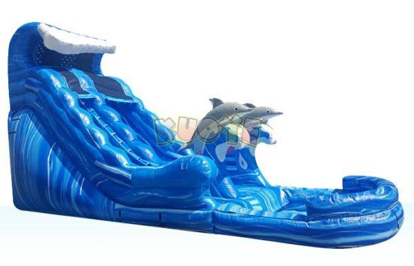 WS1803 20ft Dolphin Splash Water Slide