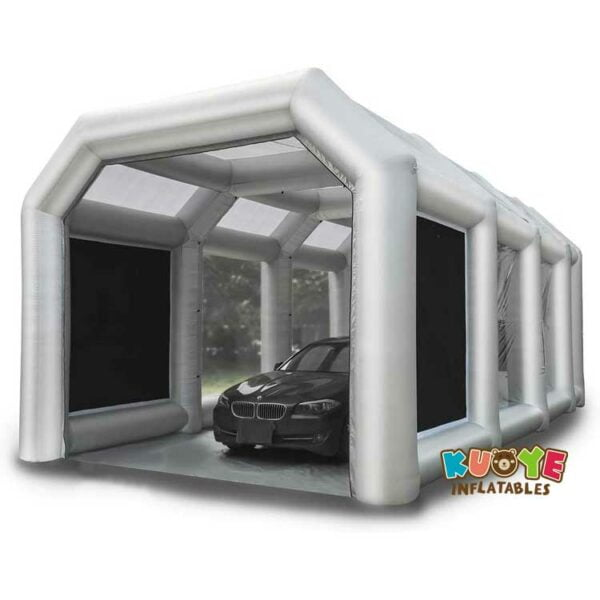 TT005 Inflatable Spray Paint Booth Tent for Car Workstation