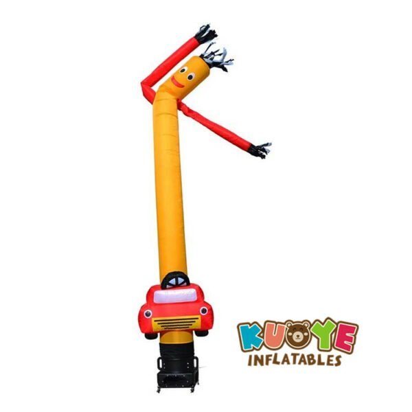 AD009 20ft Inflatable Tube Man with Car