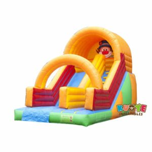 SL008 Inflatable Clown slide