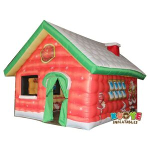Xmas014 Santa Christmas House Inflatable