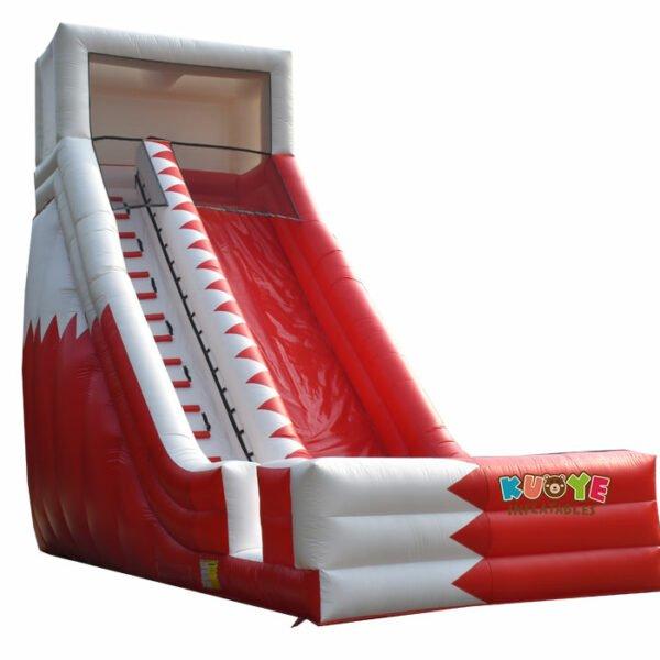 SL032 Flag Custom Inflatable High Slide