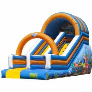 SL010 Inflatable Ocean Slide