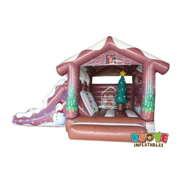 KYCB61 Christmas Bouncy Castle Combo Inflatable