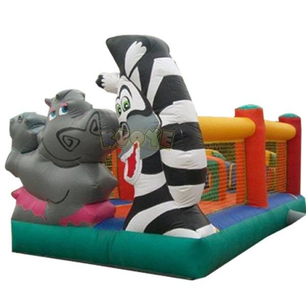 KYC03 Animal Jumping Castle