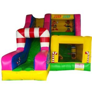 KYCB03 Candy castle slide combo