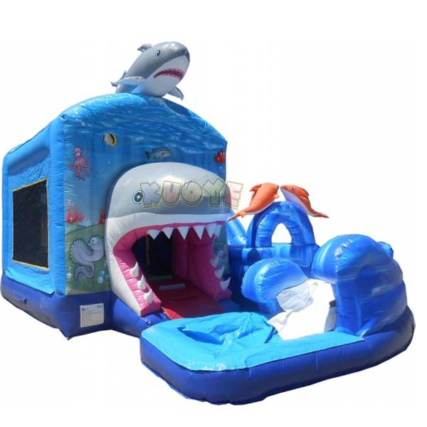 KYCB11 Jump-N-Splash Shark Combo with Pool