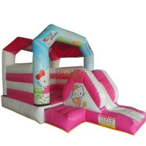 KYCB27 Hello Kitty Bouncy Castle with Slide
