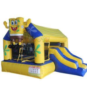 KYCB29 Spongebob Jumping Castle with Slide