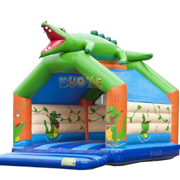 KYC17 Crocodile Bouncy Castle