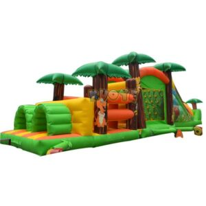KYOB21 Inflatable Jungle Obstacle