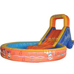 KYSS07 Backyard Slide with Pool