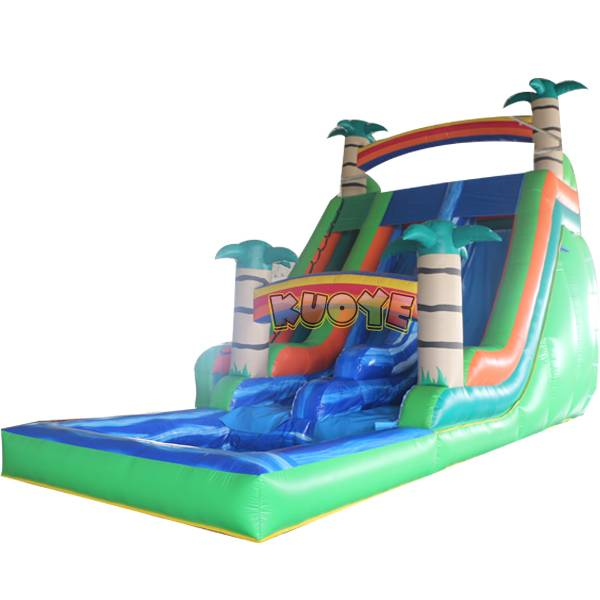 KYSS10 21ft Tropical Water Slide