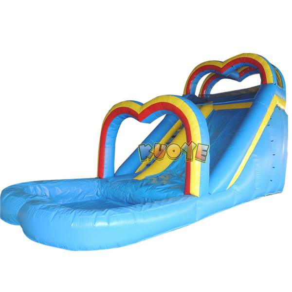 KYSS11 Rainbow Water Slide
