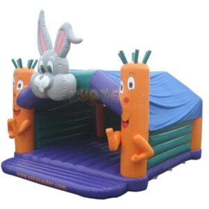 KYC51 Bouncy Castle Rabbit and Carrots
