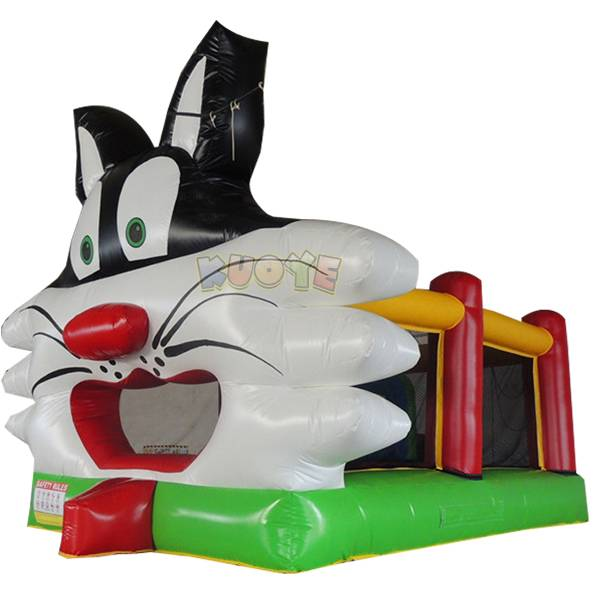 KYC53 Inflatable Castle Cat