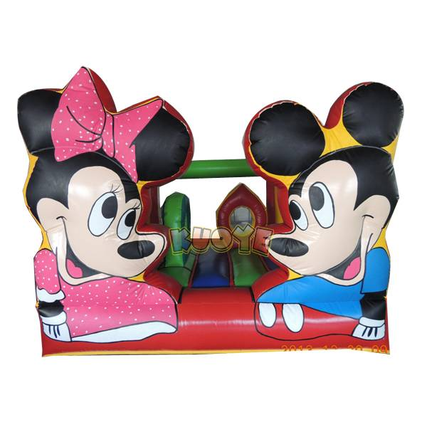 KYC67 Mickey and Minnie Inflatable Castle