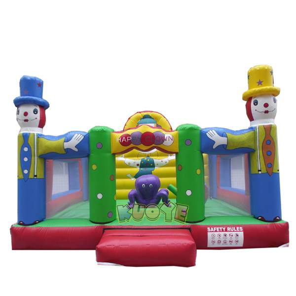 KYC69 Inflatable Playground Happy Clown