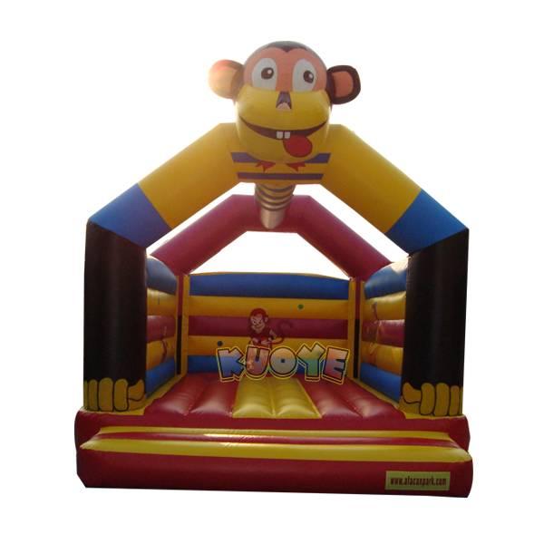KYC81 Monkey Bouncy Castle