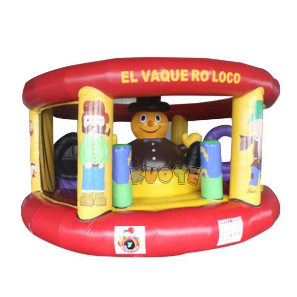 KYC91 Inflatable Castle Crazy Cowboy