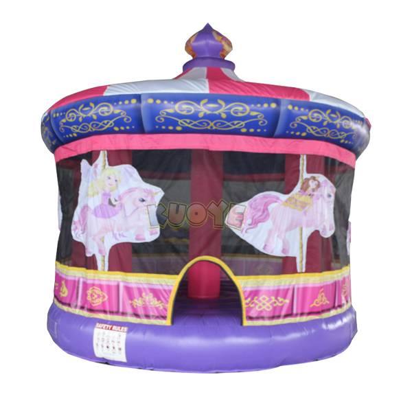 KYC106 Carousel Bounce House