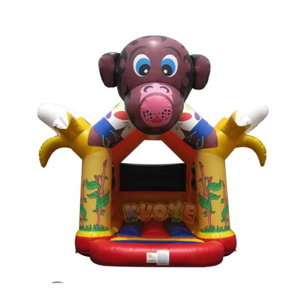 KYC120 Monkey and Banana Bouncy Castle