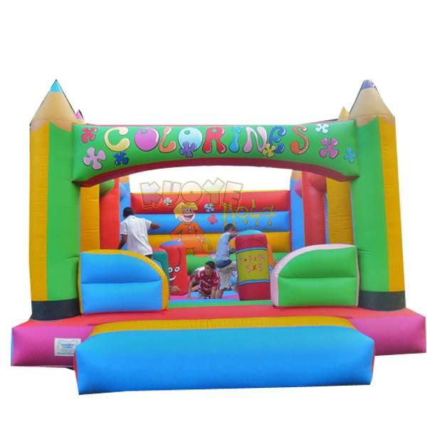 KYC134 Pencil Inflatable Castle