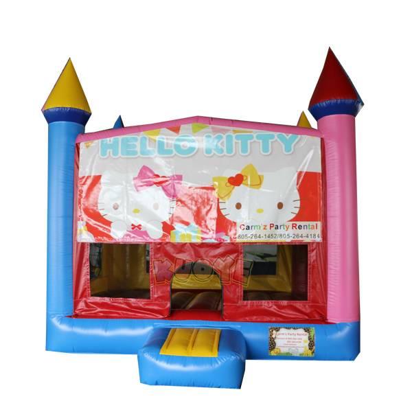 KYC143 Kitty Banner Bounce House