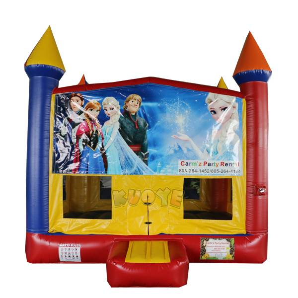 KYC144 Frozen Banner Bounce House