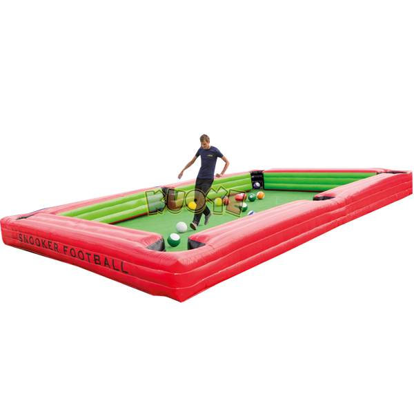 KYSP25 Snooker Ball Inflatable Table Soccer with 16 Balls