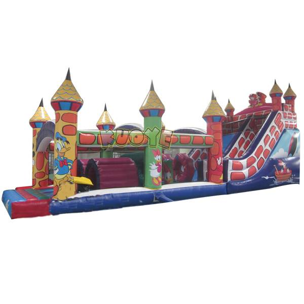 KYOB25 Mickey Mouse Theme Inflatable Obstacle