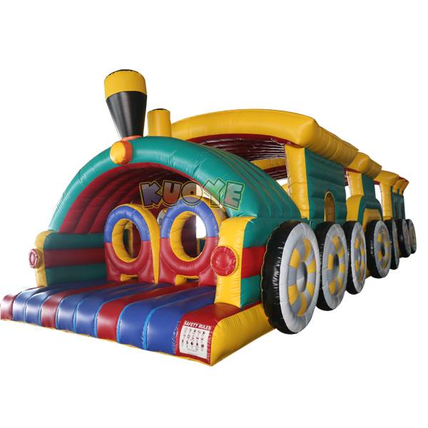 KYOB27 Train Inflatable Obstacle