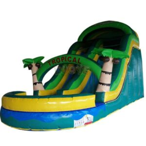 KYSS16 16ft Tropical Water Slide