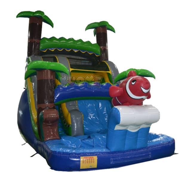 KYSS17 Jungle Slide With Pool