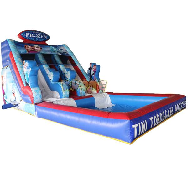 KYSS33 Frozen Inflatable Water Slide