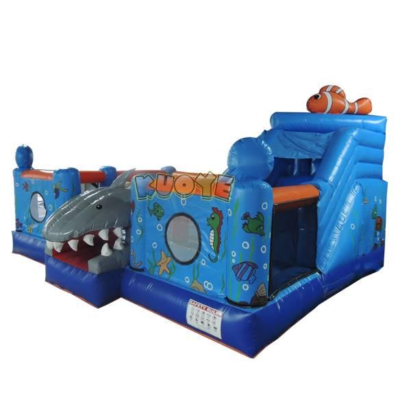 KYCB42 Shark Bouncy Castle with Slide