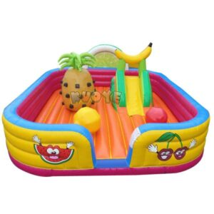 KYCB43 Fruits Activity Bouncer Low Height & Open