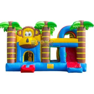 KYCB45 Tropical Monkey Bouncer Slide Combo