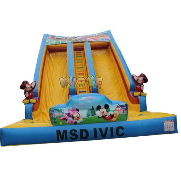 KYSS44 Mickey Water Slide
