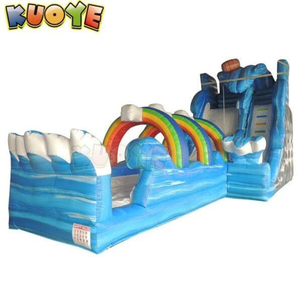 KYSS46 20ft Roaring River Rainbow Wave Water Slide