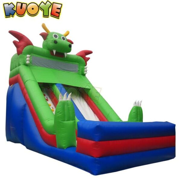 KYSS49 Green Monster Water Slide