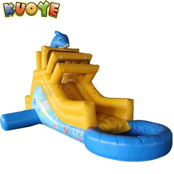 KYSS51 Mini Dolphin Water Slide
