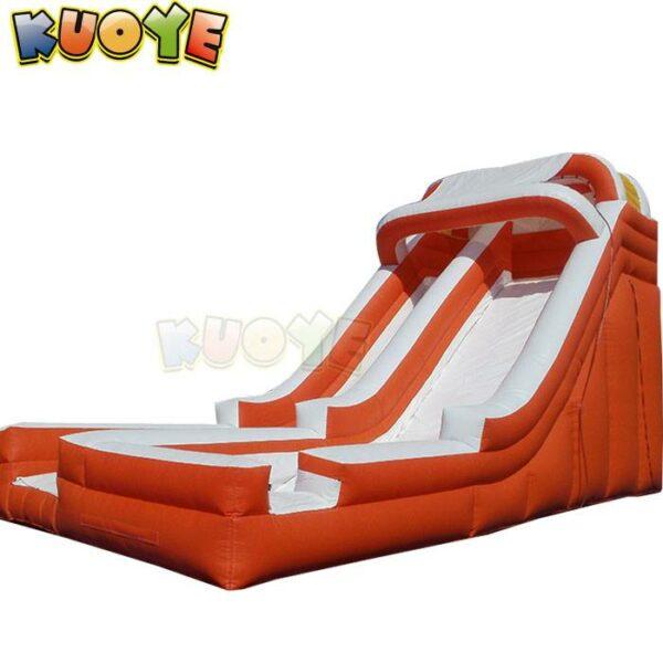 KYSS54 18ft Orange & White Water Slide