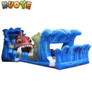 KYSS65 Shark & Crocodile Water Slide