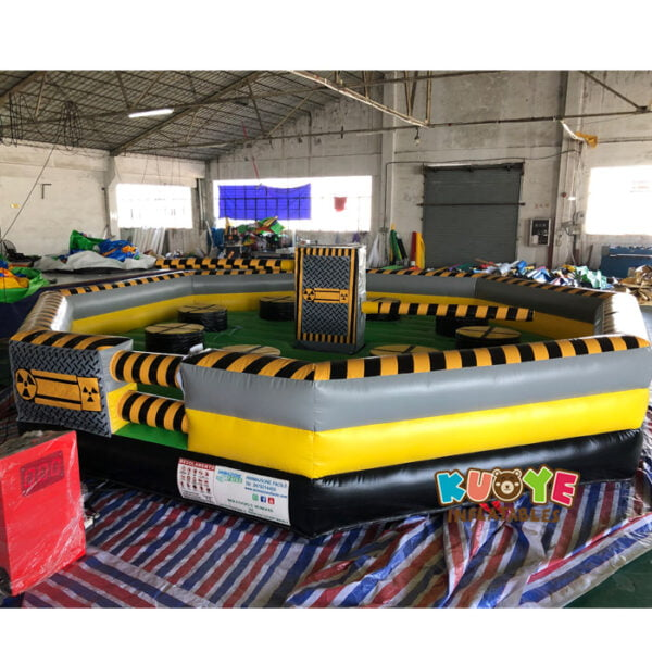 SP1851 8 Players Meltdown Mechanical Inflatable Wipe Out game 2