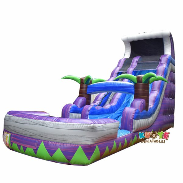WS047 20ft Purple Crush Inflatable Water Slide