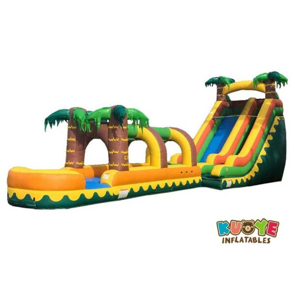 WS011 18ft Tropical Breeze Waterslide with Coconut Run