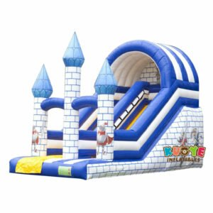 SL011 Inflatable Camelot Theme Slide