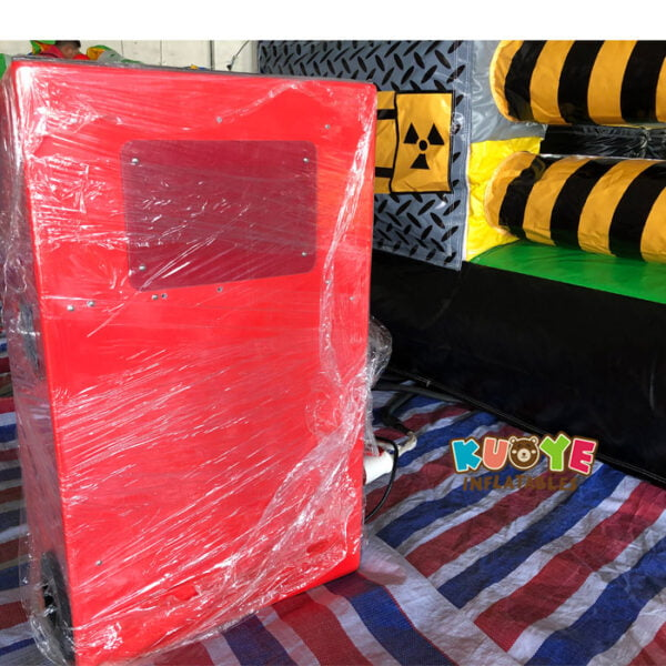 SP1851 8 Players Meltdown Mechanical Inflatable Wipe Out game 7